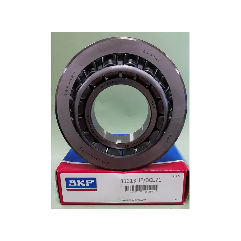 Cuscinetto 31313 J2/QCL7C SKF 65x140x36,68 Weight 2,3142 31313J2QCL7C,31313A,31313XL,31313JR,4T31313,4T-31313,31313
