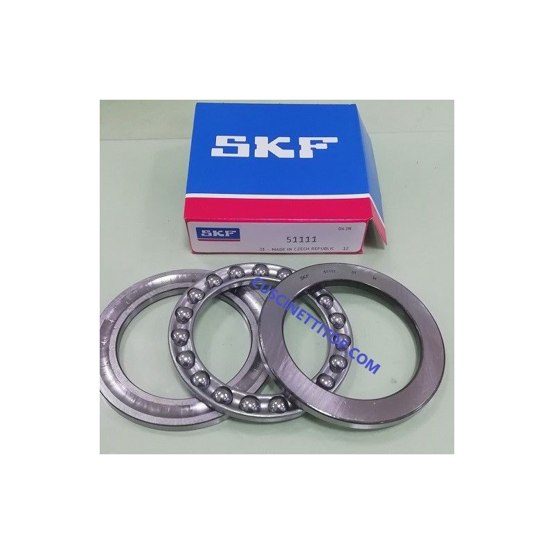 Cuscinetto 51111 SKF 55x78x16 Weight 0,217 51111