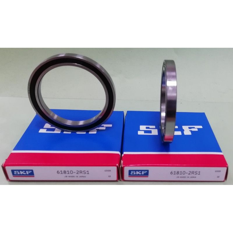 Cuscinetto 61810-2RS1 SKF 50x65x7 Weight 0,0472 618102RS,61810-2RSR-HLC,6810-2RS,6810-2RS,61810-2RS,61810-2RS1,