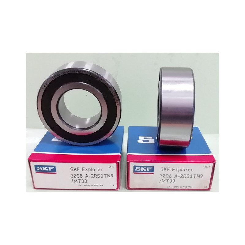 Cuscinetto 3208 A-2RS1TN9/MT33 SKF 40x80x30,2 Weight 0,585 32082rs,3208-2rs,3208a2rs1tn9mt33,3208bdxl2hrstvh,5208-2rs
